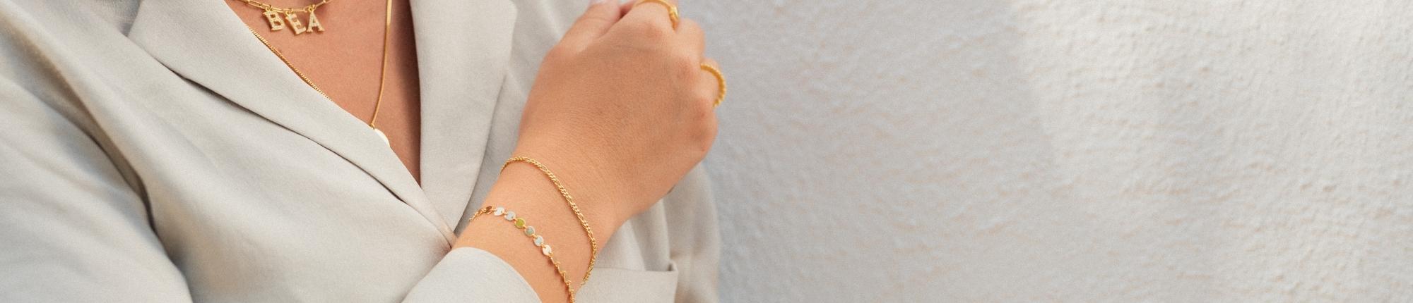Pulseras de plata y Pulseras doradas | Pulseras baratas online